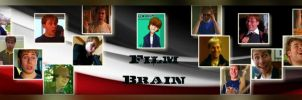 Film Brain Banner by pinkrangerwannabe
