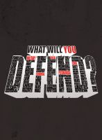 What Will U DEFEND? alternate by kolOut