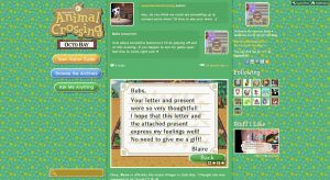 Animal Crossing Tumblr Theme by bubblessoc