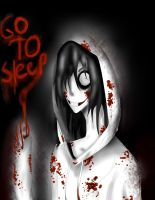 Jeff The Killer Go To Sleep by moonstar4444