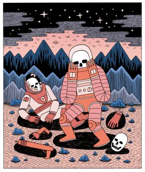 Death in Space II by Teagle