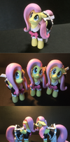 Fluttershy Sculpture by fromamida