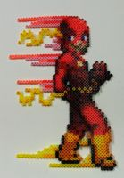 Perler Bead: Flash by thewiredslain