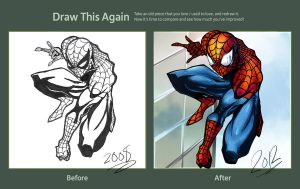Revamped Spiderman by QueenRebecca