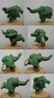 Chaos Dwarf - WIP 2 - WILLY MINIATURES by Serg-Natos