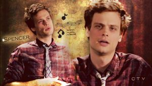 SPENCER REID from CM by Anthony258