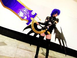 Xenovia Cosplay from High school DxD by HaruhichanxD