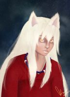InuYasha by TheNoNameSquirrel