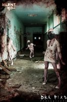 The evil nurses - Silent hill cosplay by AlicexLiddell