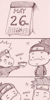 Happy Birthday Iruka by NessaSan