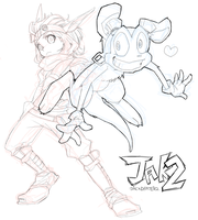 jak and daxter by soraco
