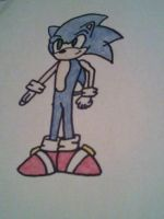 Sonic The Hedgehog by AxBeautifulxLie9