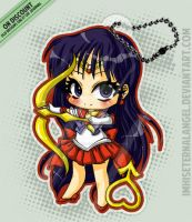[OLD] Super Sailor Mars Keychains by ImHisEternalAngel