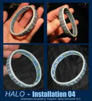 Halo: Installation 04 - Miniature by Ganjamira