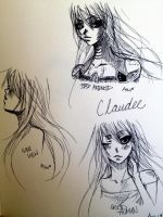 claudee sketches by claudeekuru-chan