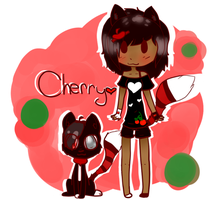 Cherry (Art trade) by 0EvilBunnies0