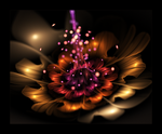 3d flower 1 by nebulaborn