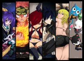 Fairy Tail - The Best Guild Collab by Itachis999