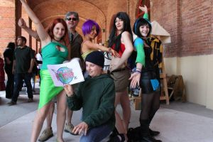 TOTAL DRAMA:WORLD TOUR cosplay by MikuNohee