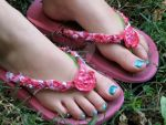 Sexy Flip Flops by cum-on-her-feet
