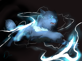 The game with the lightning by Diivon