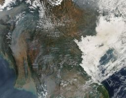 Forest Fires in Southeast Asia by EarthHart