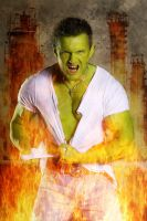 The incredible Hulk by MarcoSchnitzler