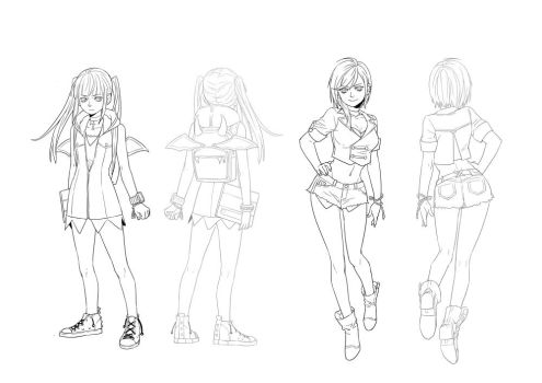 character design female - 1 by 1001yeah