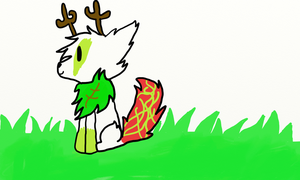 Grass Wolf For Contest by chattykat01
