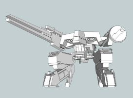 SketchUp Project: REX 2 by RazielGardel