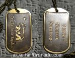 NCR dog tag _ with your name _ Fallout by TimforShade