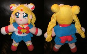 Big Sailor Moon Crystal Plush by QTZephyr