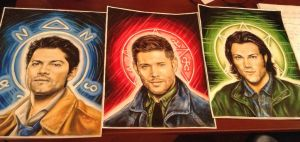The Boys + Castiel by animaddict