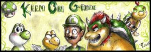 Nintendo keen on green by FuriarossaAndMimma