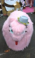 Fluffle Puff... with a HAT! by MadHamsterCostumes