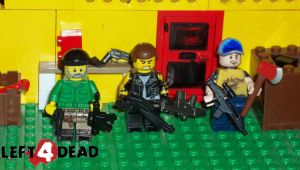 lego left4dead characters 2.0 by weskerchild117