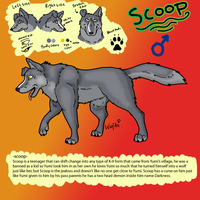 Scoop Reference page by WolfArtC