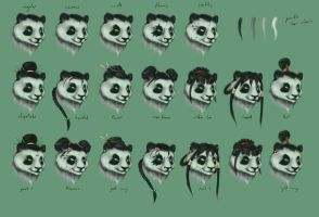 Pandaren Face Mash by DuskDiamond