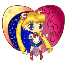 Sailor Moon Chibi by kilala909