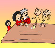 AT: Comic strips Tea Time by Aso-Designer
