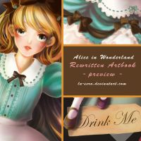 Rewritten Artbook Preview - scene 4 by la-sera
