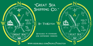 Great Sea Shipping Co by TeegKetchen