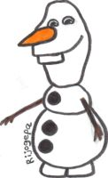 Olaf from Frozen by Rijogepa