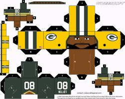 James Lofton Packers Cubee by etchings13