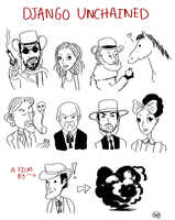 More little Django doodles by monkette