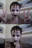 Webcam: Tiger Paint by starbuxx