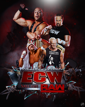 ECW invades WWE by Ara-Designs