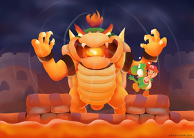 Mario's Blacklist: Baby Bowser by Kanis-Major