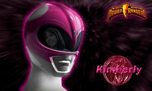 Kim, Pink Ranger by scottasl