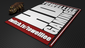 C4D Towelliee wallpaper by xCustomGraphix